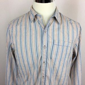 Tommy Bahama Jeans Long Sleeve Button Up Shirt
